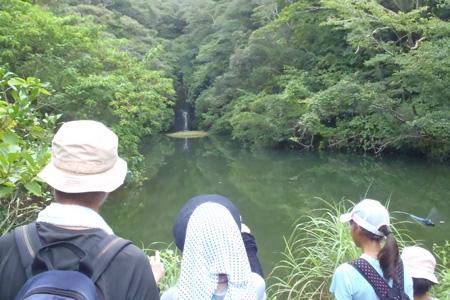 硫黄沼と硫黄滝