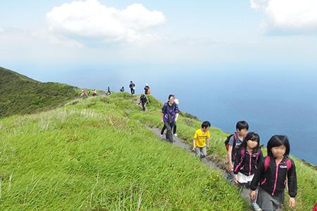 八丈富士ハイキング