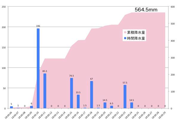 降水量グラフ